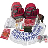 Family Prep Emergency Survival 72 Hour Kit, 2 Person and 4 Person Available, Emergency Zone Brand (4 Person)