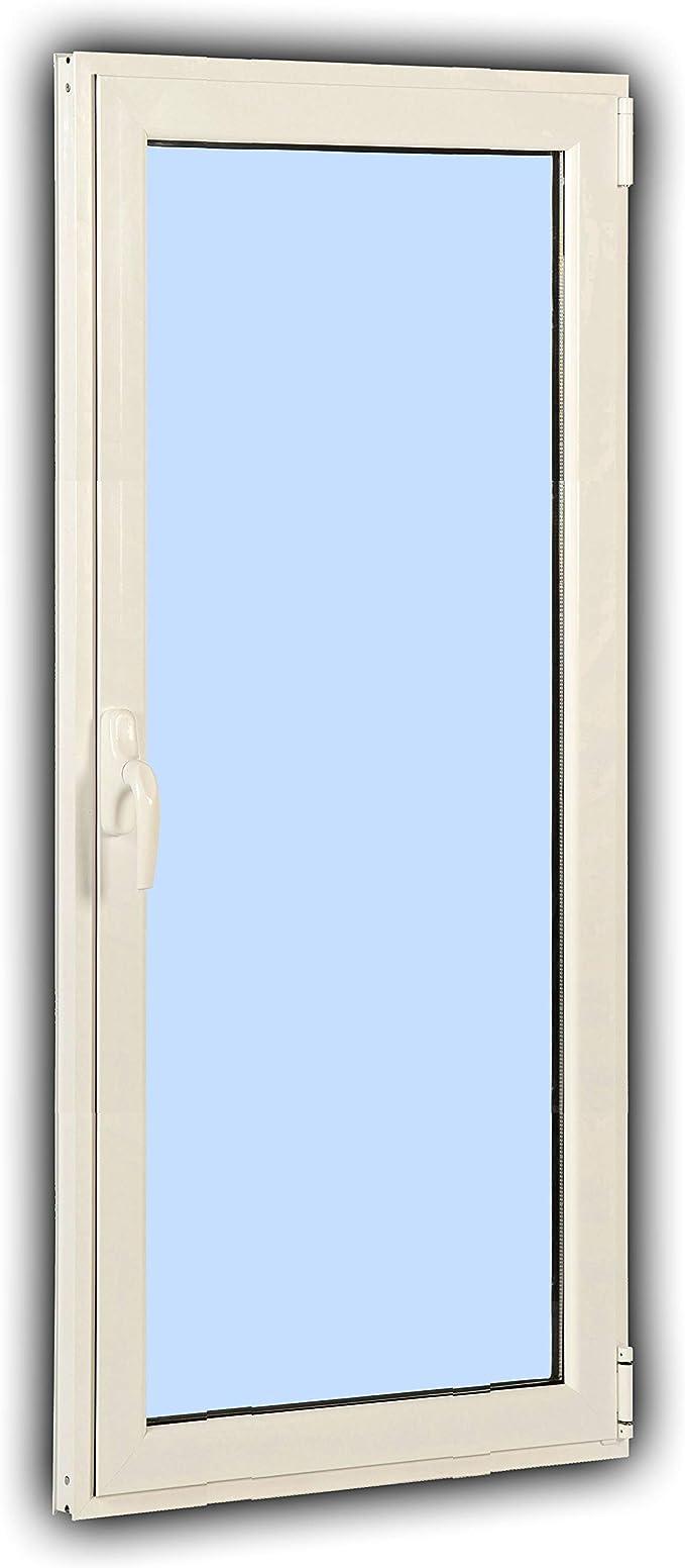 Puerta Balconera Aluminio PRT 45 Practicable Oscilobatiente Derecha 800×2000 1 hoja con crsital climalit: Amazon.es: Bricolaje y herramientas