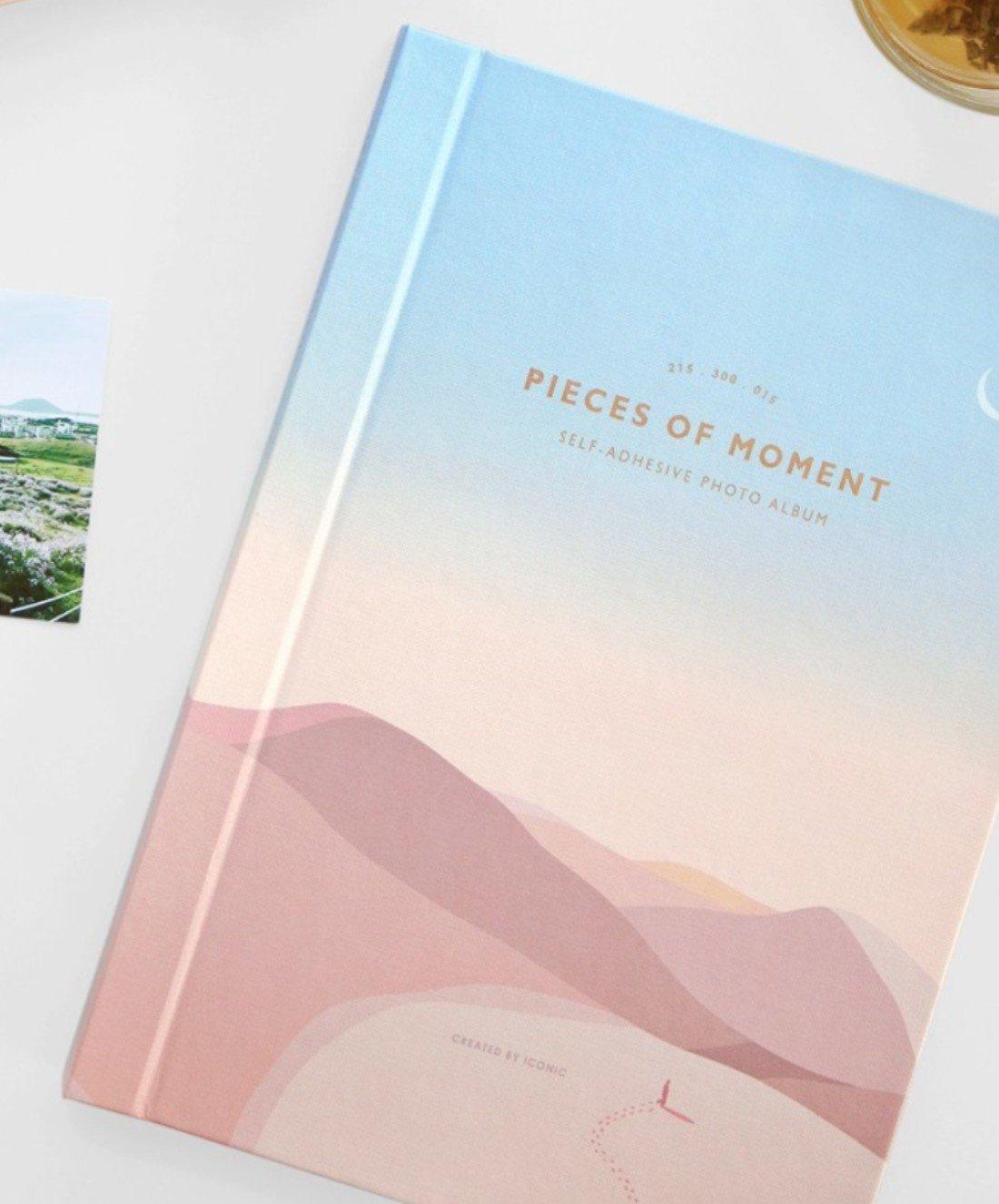 Ikonische Stücke von Moment Fotoalbum, selbstklebend Flamingo ICONIC