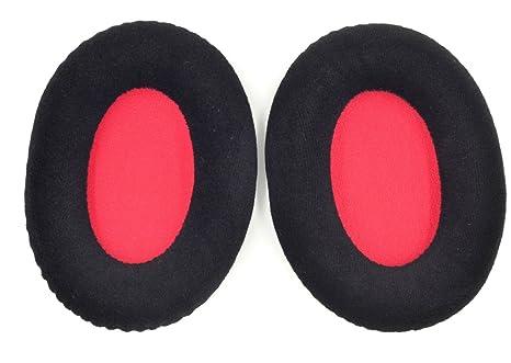 Ear Pads Cushions Compatible For KINGSTON Hyperx Cloud II Black Earpads