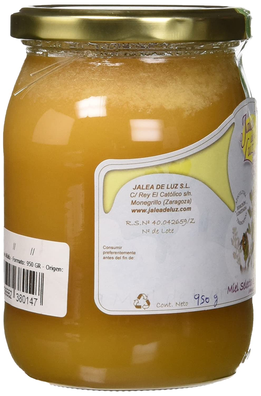Jalea de Luz Miel Cruda Pura de Alfalfa - 950 gr.: Amazon.es: Alimentación y bebidas