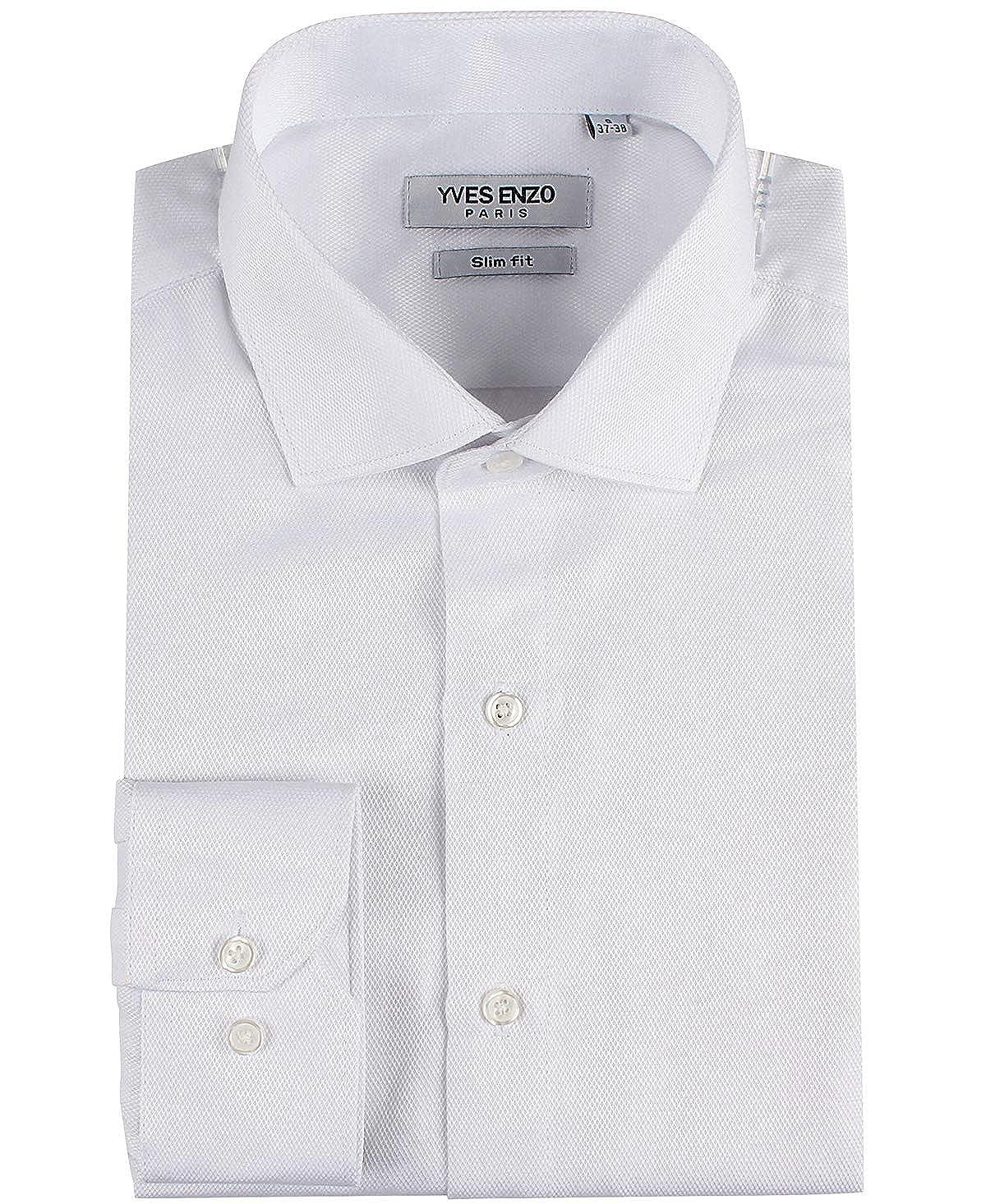 Sin Para De 34 Blusa Casual Top Cuello Manga Camisa Hombre Lino vf6gY7yb