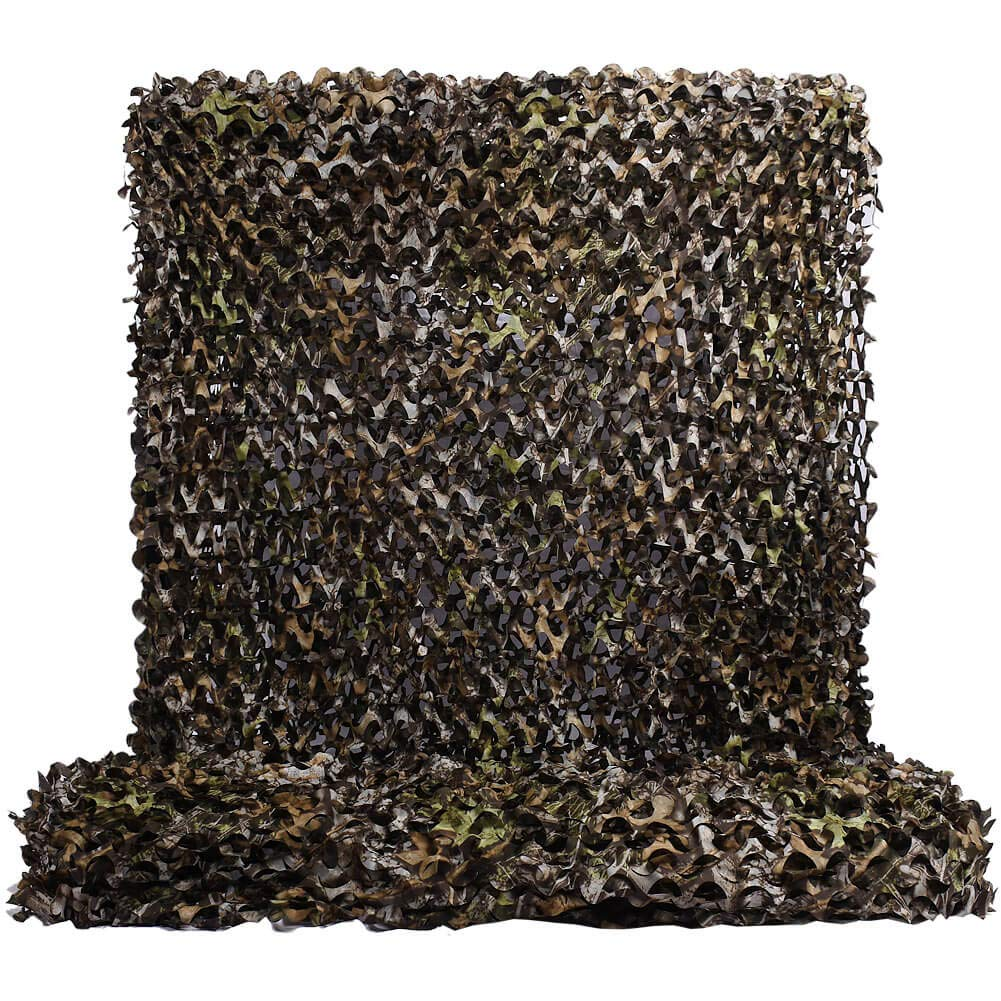 HYOUT Woodland Camouflage Netting,Jungle Maple Camo Net for Hunting Shooting Blind Camping Military Party Decoration Watching Hide