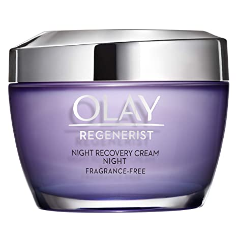 Night Cream by Olay Regenerist Night Recovery Anti Aging Face Moisturizer 1.7 oz, 2 Month Supply
