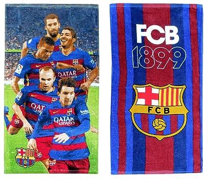 FC Barcelona Juego de toallas de mano (2 diseños 35 x 60 cm