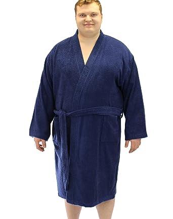 Espionage Men\'s Towel Dressing Gown Robe: Amazon.co.uk: Clothing
