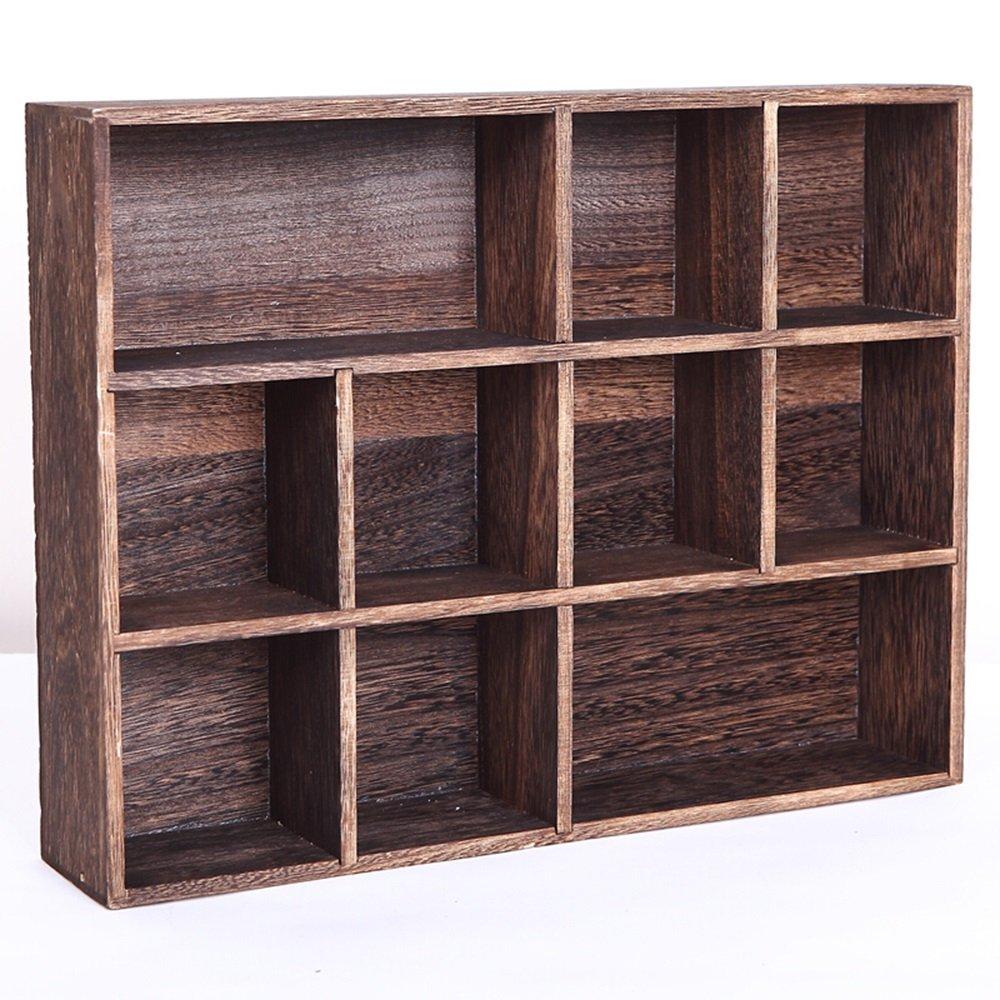 Home storage rack / wood multi-shelf wall shelf / tea storage cabinets / teapot rack / shelf /Wall shelf / (407.530cm , 581243cm) ( Size : 581243cm )