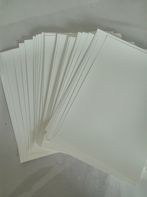 Hydrographics Film - Blank Water Transfer Printing Film - 20 Pcs A4 Size Blank Water Transfer Printing Film - Blank Water Transfer Film