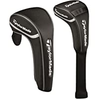Taylormade Golf 2016 Black Universal Club Headcovers - Driver + Rescue/Hybrid