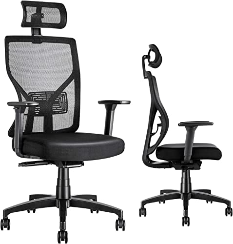 MOLENTS Office Desk Chair Ergonomic Task Chair Breathable Mesh