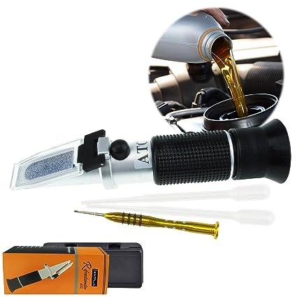 Refractómetro Portátil Para El líquido De Operación Del Automóvil Con ATC, 5 Básculas, AdBlue