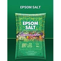 DIVINE TREE Magnesium Sulfate Epsom Salt Speed Up Plant Growth Vegetables and Plants 900g (EPSOMSALT900GR)