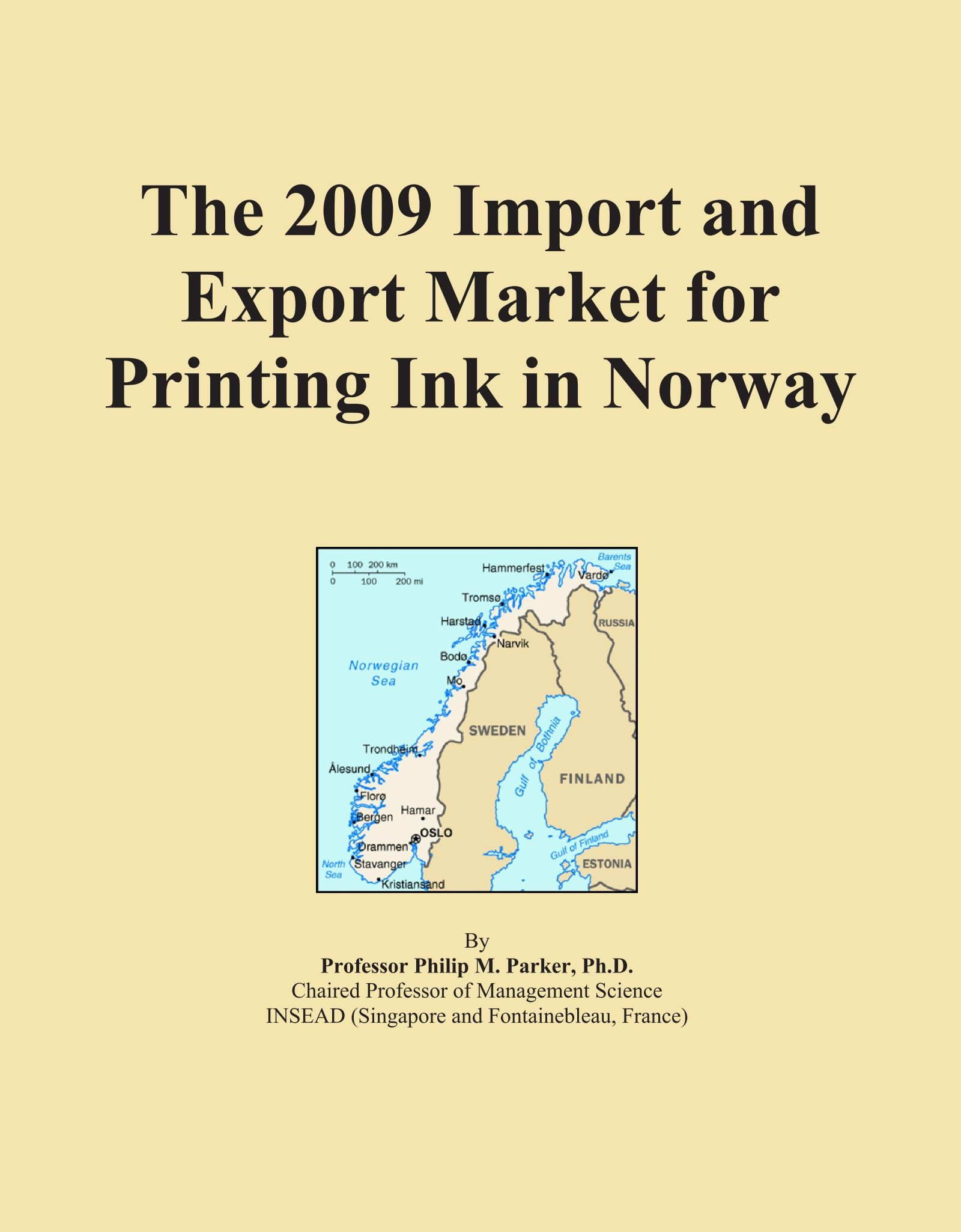 Download The 2009 Import and Export Market for Printing Ink in Norway PDF