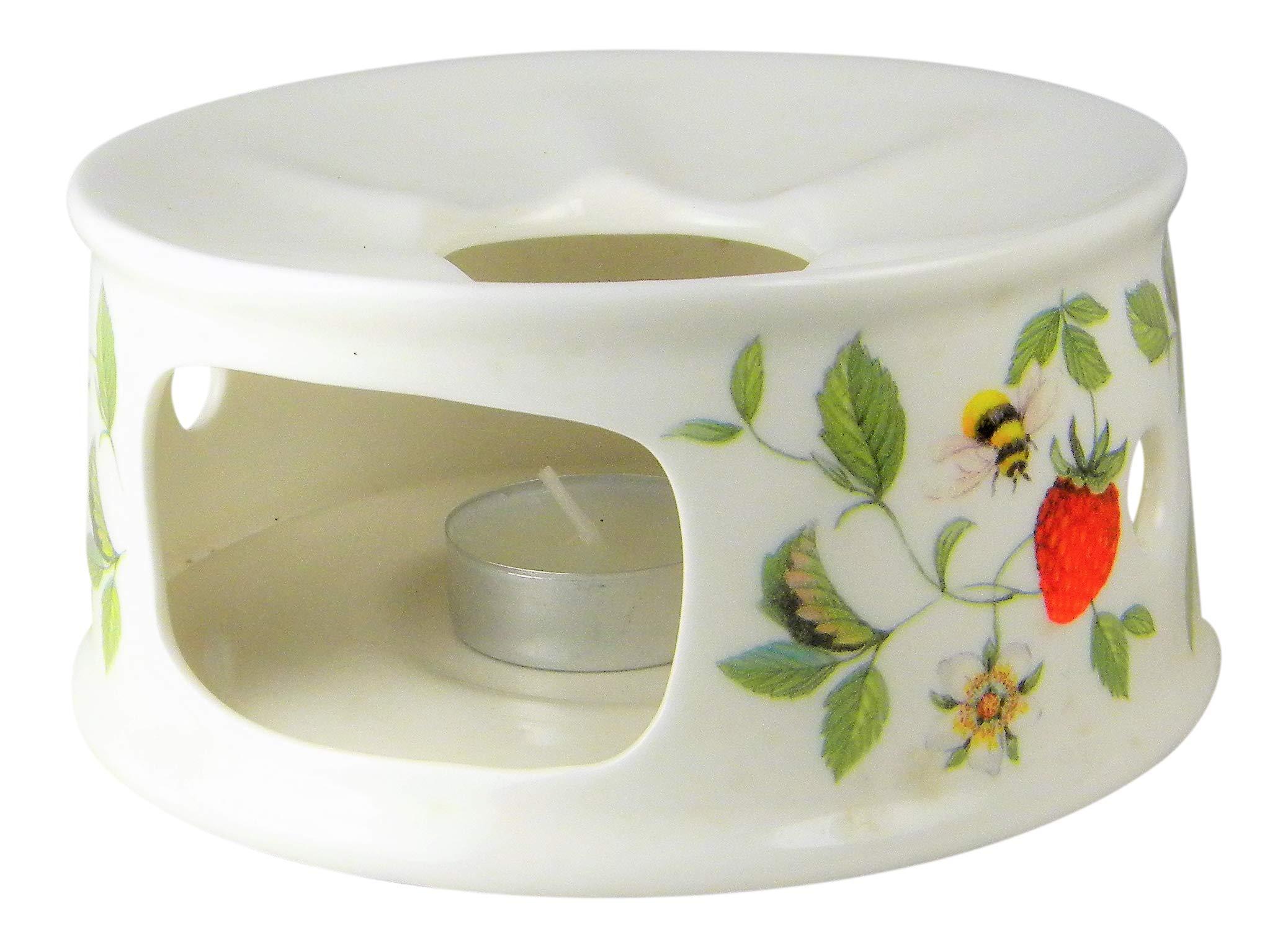 Roy Kirkham Alpine Strawberry Chintz Teapot Warmer Fine Bone China England by Roy Kirkham (Image #4)