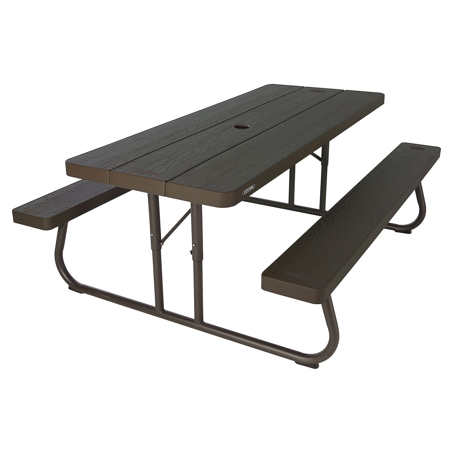 Lifetime 6 Folding Picnic Table – Brown