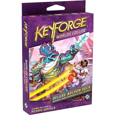 Fantasy Flight Games KeyForge Worlds Collide Deluxe Deck, Model:KF06: Toys & Games