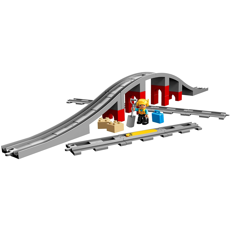 LEGO Duplo - Ponte e binari ferroviari  10872