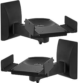 amazon com pyle pro pstnd7 pair of wall mount speaker bracket with rh amazon com Speaker Shelves PBteen wall mounted speaker shelf