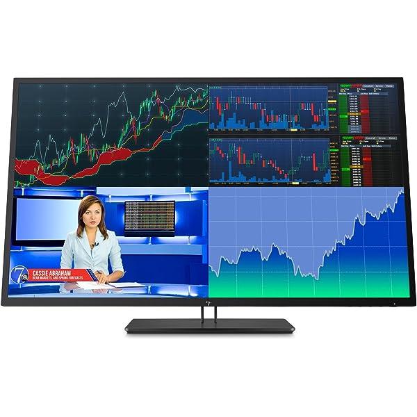 "HP Z43 4K - Monitor profesional de 43"" ajustable en altura (UHD antireflejo; 3840 X 2160; IPS LED; 350 cd/m; 5 ms; 96% sRGB; 10 bits; 16:9; Mini DisplayPort; DisplayPort; HDMI; USB-C ; 3 x USB 3.0): Amazon.es: Electrónica"