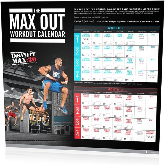 Amazon Com Beachbody Shaun T S Insanity Max 30 Base Kit Dvd Workout Sports Outdoors