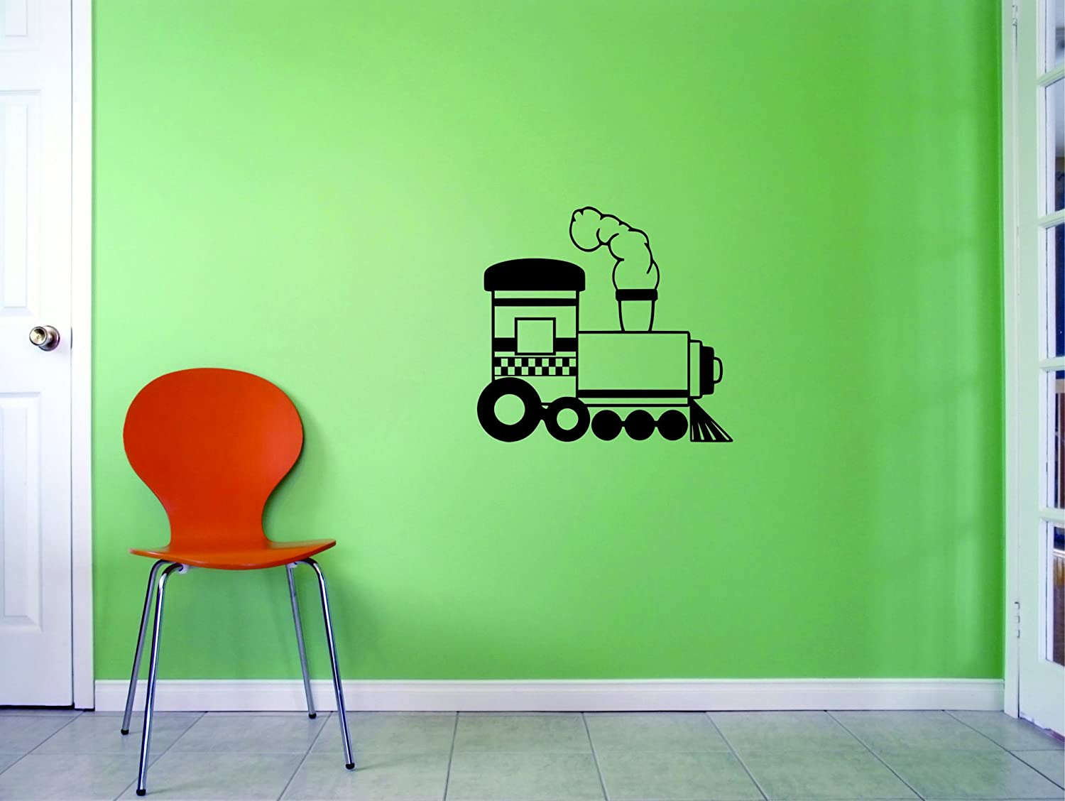 Black Design with Vinyl JER 2294 2 Hot New Decals Train Wall Art Size x 16 Inches Color 16 x 16,