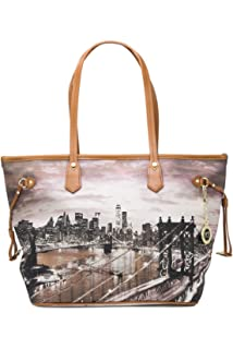 YNOT BORSA DONNA SHOPPING BAG SMALL K-336 unica new york  Amazon.it ... 07685bc9db9b
