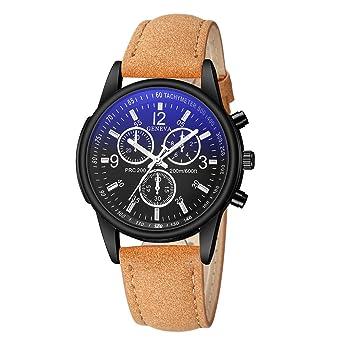 Traje para Negocios Relojes para Hombre, Aobuang Luxury Fashion ...