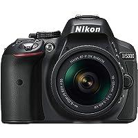 Nikon D5300 AF-P 18-55mm 3.5-5.6G VR - 24 MP SLR Camera, Black