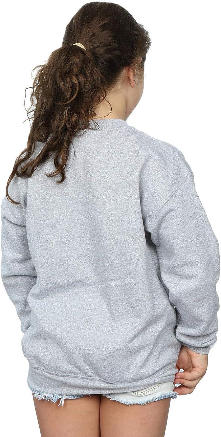 Disney Girls Mickey Mouse Angry Sweatshirt