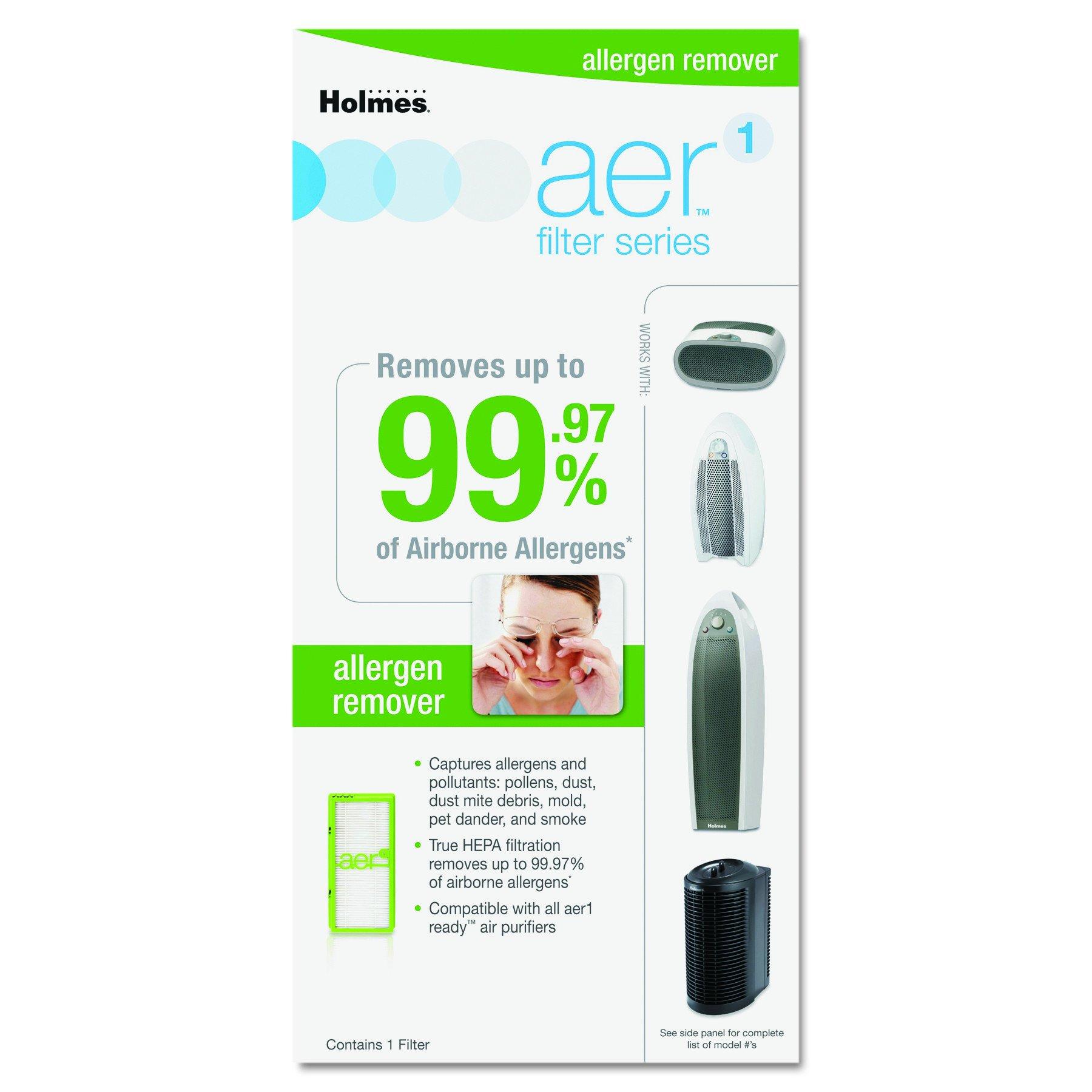 Holmes AER1 Allergen Remover True HEPA Filter, HAPF300AH-U4R by Holmes