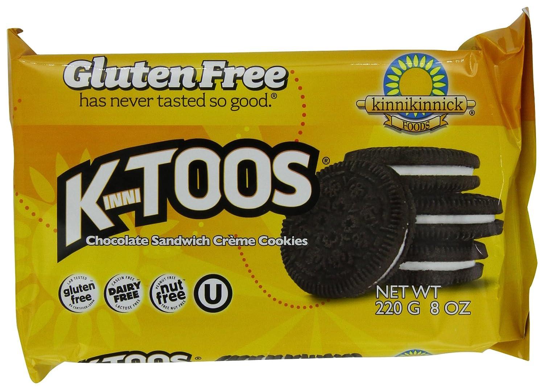 Amazon.com: KinniToos Gluten Free Cookies, Chocolate Sandwich ...