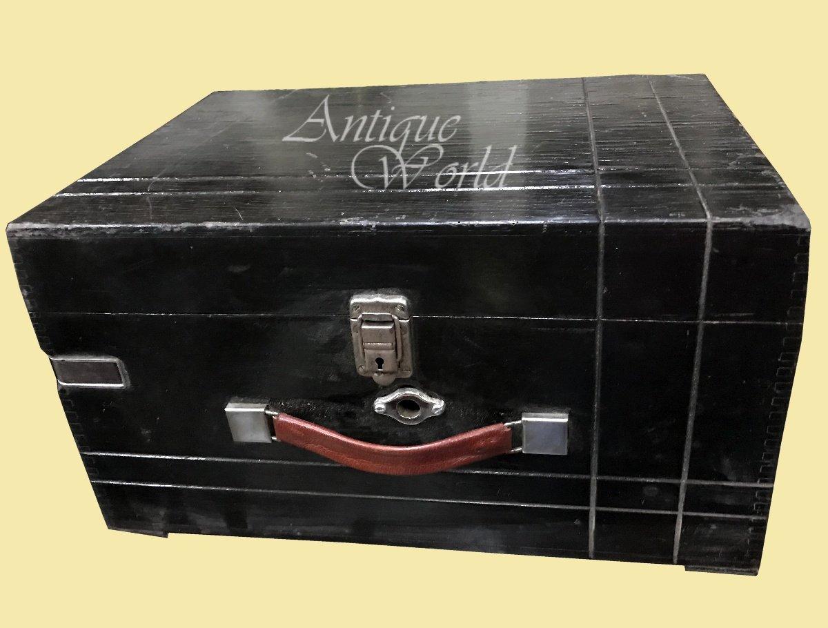 一流の品質 骨董品世界アンティークブラック古いTurnテーブルHMV「彼のマスター声」木製アート飾りCollectible awusahb MusicalボックスPhonographヴィンテージデスクDECCA電話 0166/ Gramophone awusahb 0166 Gramophone B07B9YHW7Y, アトウチョウ:0e3a8ad7 --- arcego.dominiotemporario.com