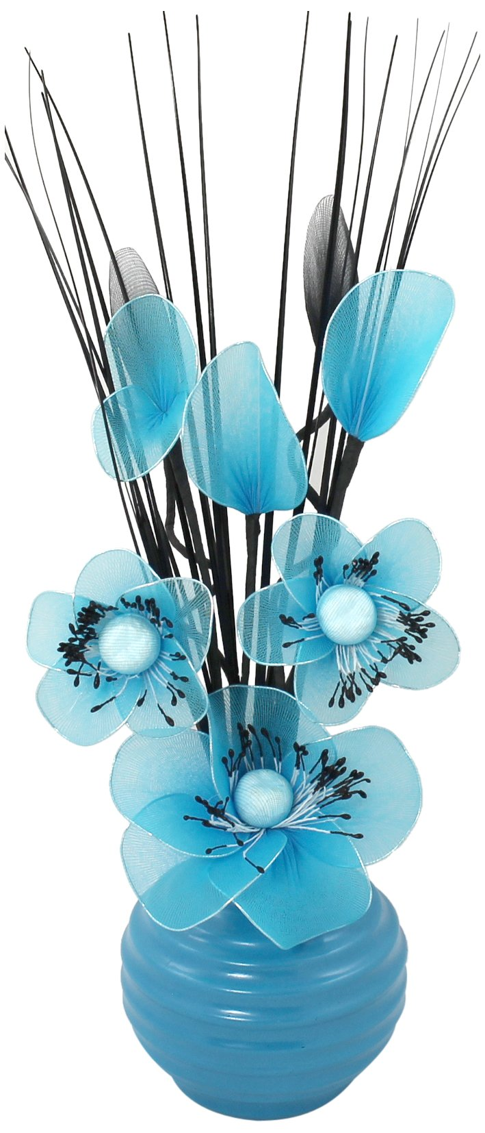 Teal Flowers Amazon