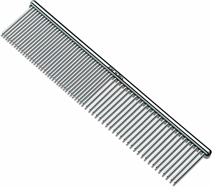 Andis (Pet) 7-1/2-Inch Steel Comb Silver
