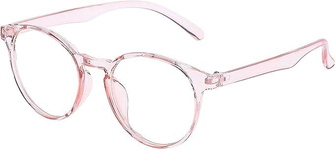 Amazon.com: 2020 Collection Glasses Anti Blue Ray Light Gaming Computer Reading TV Phones Anti-UV Radiation Glasses Men Women Blue Blocking Anti Eye Strain Headache & UV Glare (Pink): Computers & Accessories