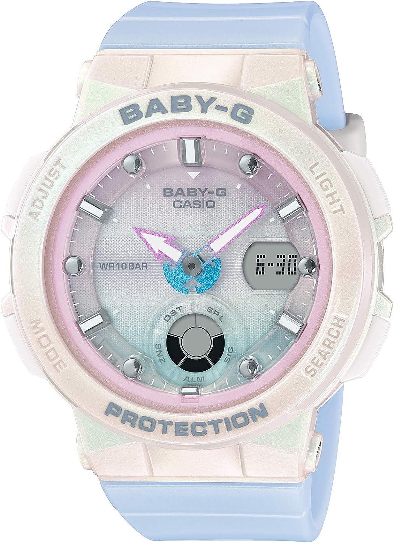 [カシオ] 腕時計 ベビージー BEACH TRAVELER BGA-250-7A3JF レディース
