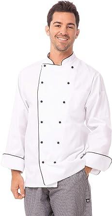 Chef Works Mens Newport Executive Chef Coat MICC-P