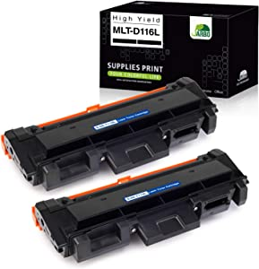 JARBO Compatible Toner Cartridge Replacement for Samsung 116L MLT-D116L MLTD116L MLT116L, Use with Samsung Epress SL-M2825DW SL-2835DW SL-2885FW SL-2875FD SL-2875FW SL-M2625D Printer, 2 Black