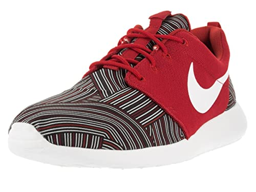 75cab6dbdb505 Nike Men s Roshe One Print University Red White Tm Rd Gym Red Running Shoe  8 Men US  Buy Online at Low Prices in India - Amazon.in
