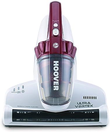 Hoover MBC500UV Ultra Vortex - Aspiradora de Mano, Ciclónica, Colchones, Sofás, Pelo Mascotas, Especial Alergias, Lampara UV Anti Bacterias, 3 Modos Limpieza, 500W, Cable 5m, Ligero, Rojo: Hoover: Amazon.es: Hogar