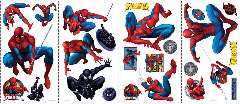 RoomMates Spiderman Amazing adhesivo decorativo para pared: Amazon.es: Bebé