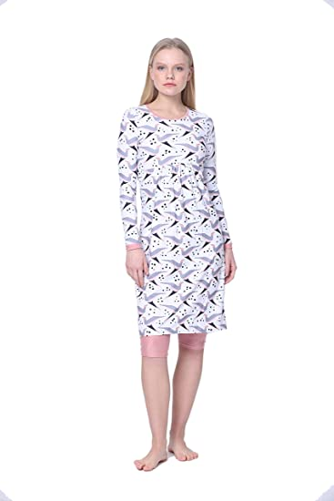 sneakers for cheap incredible prices delicate colors Amanda K Modest Swim Dress for Women Long Sleeve Dress & Capris ...