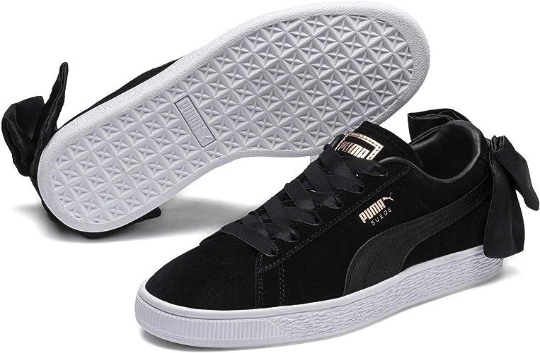 PUMA Damen Suede Bow Sneaker