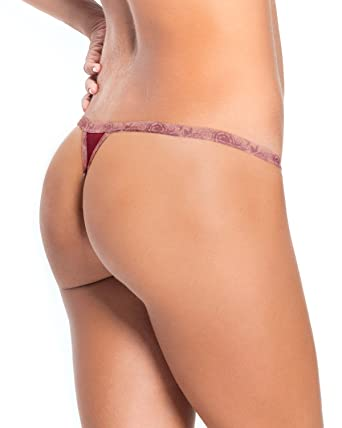 321df297249 3-Pack Invisible G-String Thong Style Panty: Amazon.co.uk: Clothing