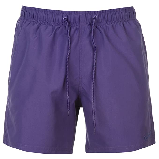 Pierre Cardin Men's Swimming Shorts Purple Violet: Amazon.co