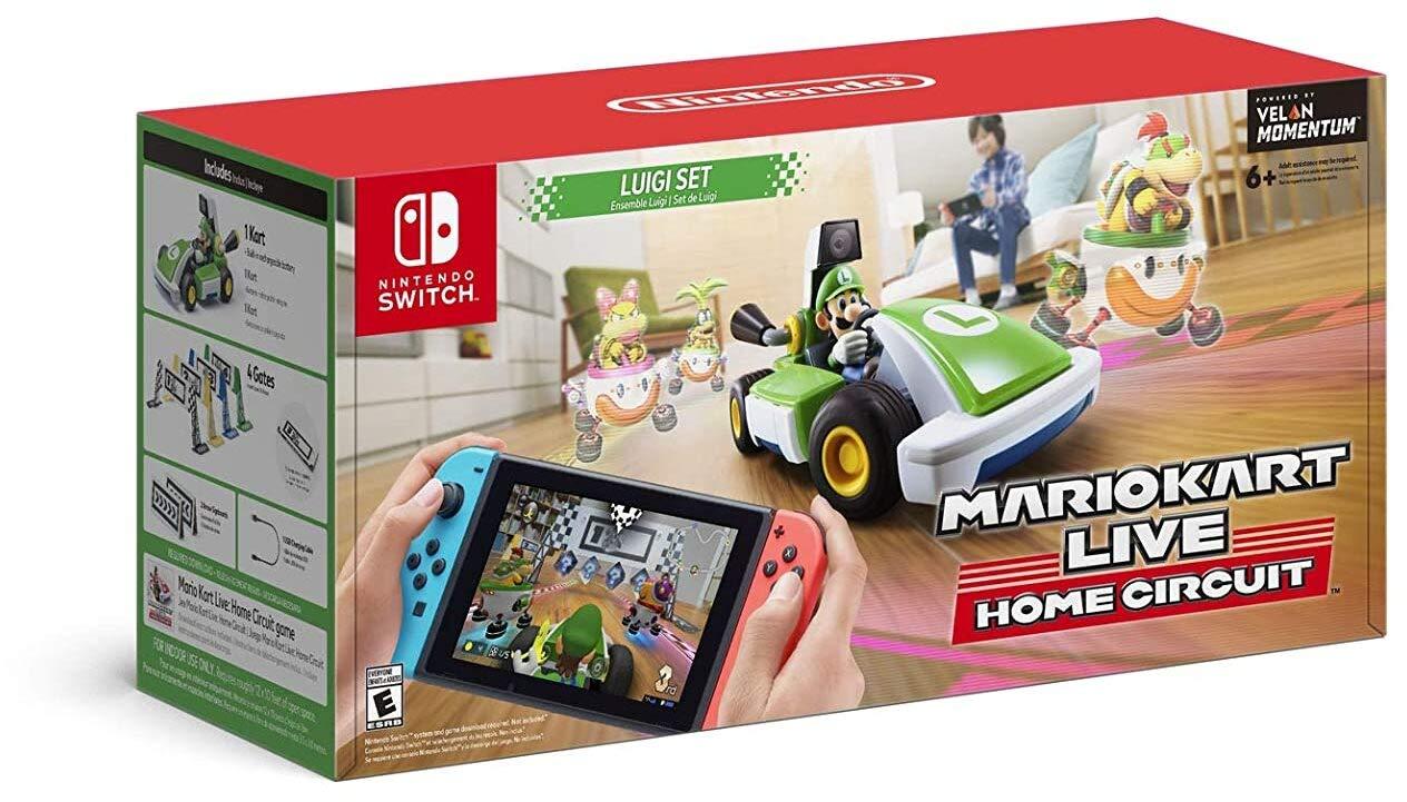 Mario Kart Live: Home Circuit -Luigi Set - Nintendo Switch Luigi Set Edition