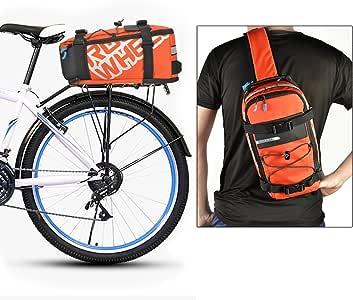 Bolsa Bicicleta Mochila Roswheel Soporte Movil Bicicleta