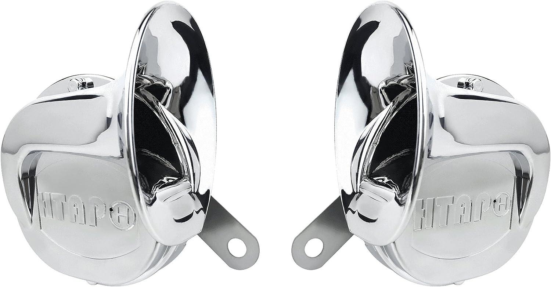 /Twin Pack/ Chrome Lumaca stile auto corno/ /toni alti e bassi tono 12/V