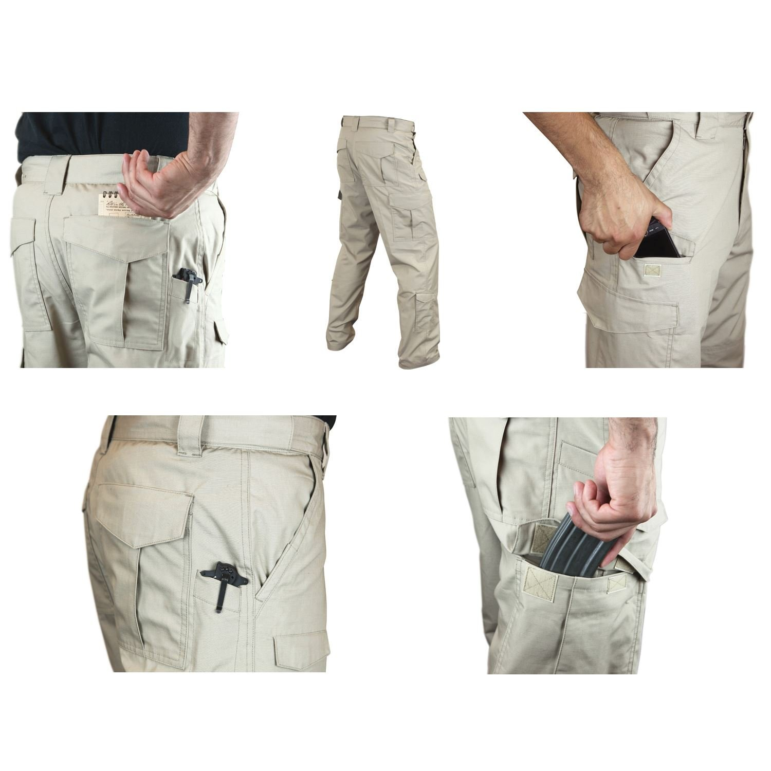 Condor Tactical pantaloni nero