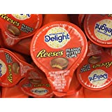 International Delights Reese's Peanut Butter Cup Liquid Coffee Creamer Singles - 50 Count PEANUT BUTTER AND CHOCOLATE IN YOUR